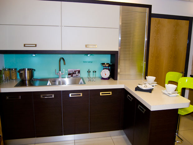 Cento Wenge Modern Kitchen