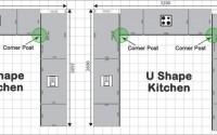 Kitchen Corner Posts