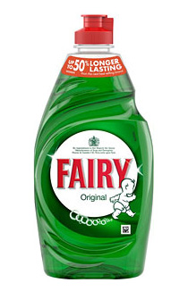 Washing up liquid bottle