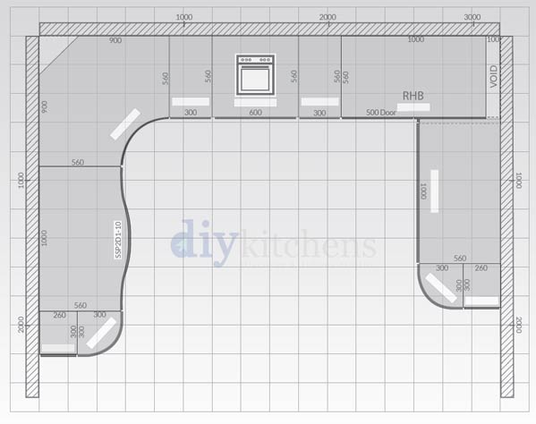 How To Create A Kitchen Plan Diy Kitchens Advice