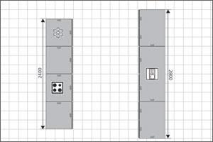 Galley Kitchen Floor Plan
