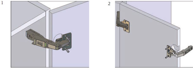 How To Assemble A Corner Base Unit Double Hinged Doors