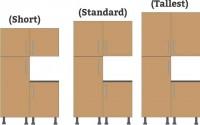 Tall wall unit heights