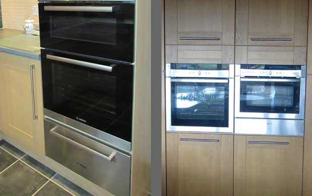 Which appliances fit in tall kitchen units diy kitchens for Tall kitchen drawer unit