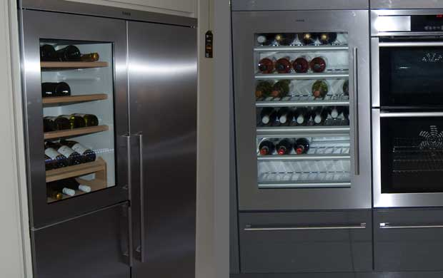 Which appliances fit in tall kitchen units diy kitchens - Kitchens with wine coolers ...