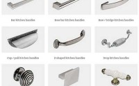 Kitchen handle types