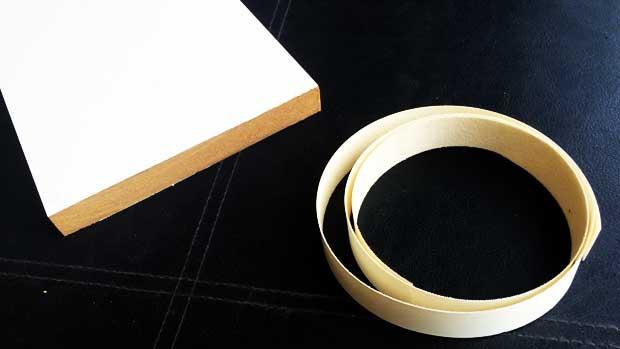 Edging tape