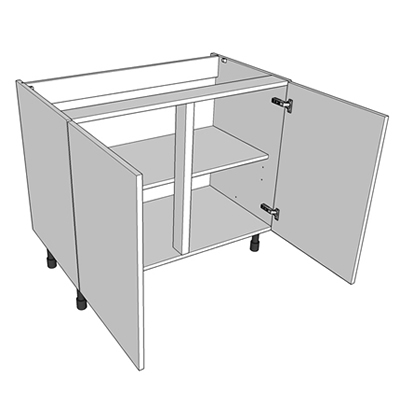 Corner Kitchen Sink Base Unit : ... need your corner post to go around the corner to the adjacent unit