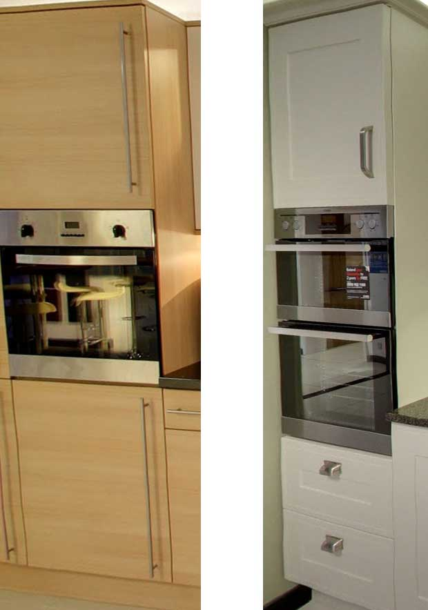 Tall oven housing configurations diy kitchens advice for High level kitchen units