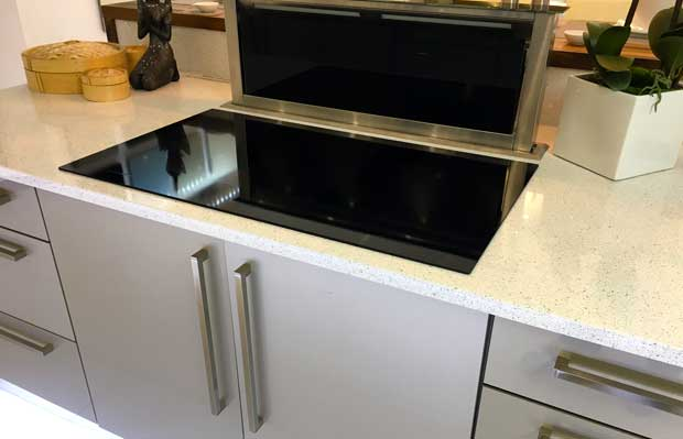 Do you have any tips for placing a hob in a corner diy for Service void kitchen units