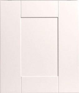 Innova linwood white shaker door