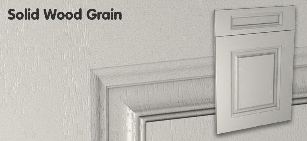 Solid wood grain