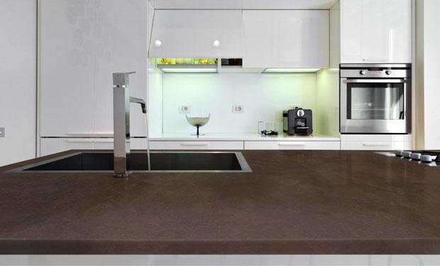 Dekton worktop kitchen