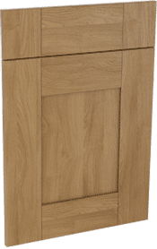 Malton oak effect shaker mdf kitchen door