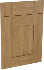Malton oak effect shaker mdf kitchen door