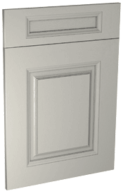 Silsden solid wood shaker kitchen door