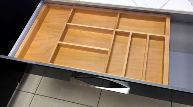 Expandable cutlery insert 1000mm
