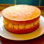 Lemon sponge cake recipe feature