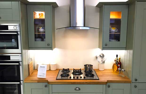 Do your kitchen units have glazed doors available?