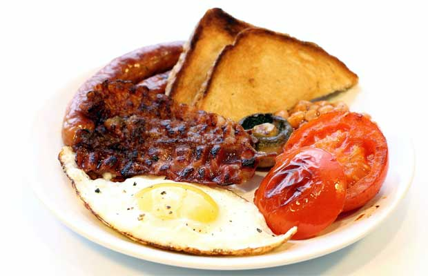 The great big English breakfast