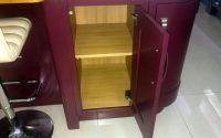 In-frame unit open door