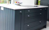 2 round kitchen unit knobs on drawers