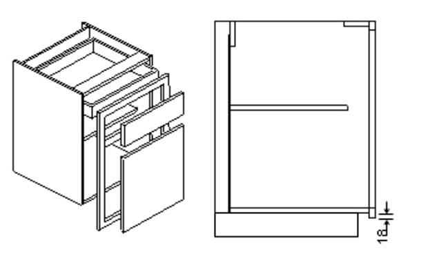 Inframe belfast sink unit frame-larger