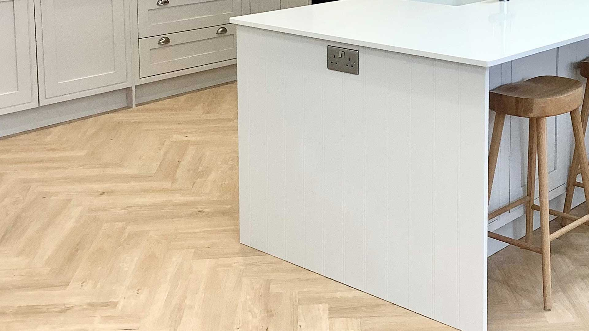 Lay The Floor Or Fit The Kitchen First Diy Kitchens Advice