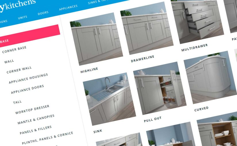 Ordering your kitchen online