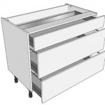 1000mm Pan Drawer Unit