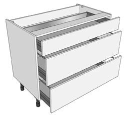1000mm Pan Drawer Unit