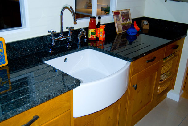 kitchen with belfast sink what type of sink do i need for a granite worktop diy 6493