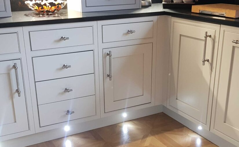 Can you explain what the kitchen door materials are?