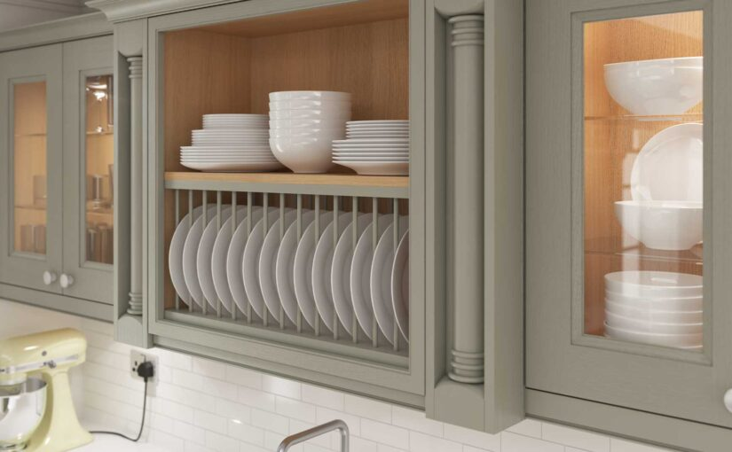 How to construct a plate rack