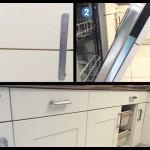 Drawerline appliance door