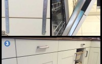 Drawerline appliance door