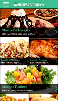 Recipes cookbook iphone app