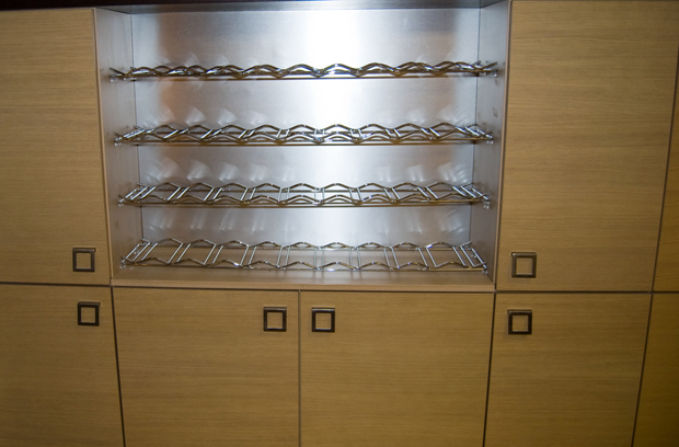 Open wine rack