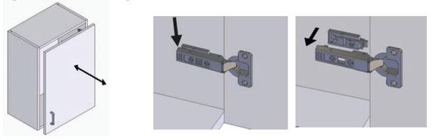 Release standard hinge
