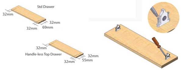 Drawer Clip Attachment