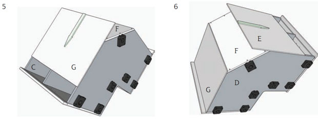 Side panel groove