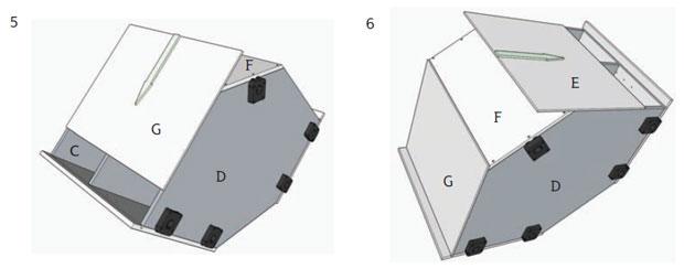 4 slide back panels