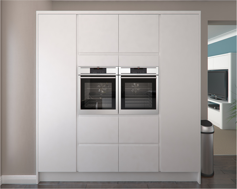 White Wall Units Kitchen