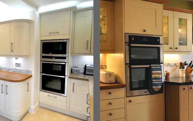 Which appliances fit in tall kitchen units diy kitchens for High level kitchen units