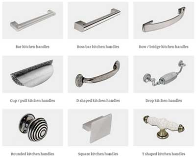 Types Of Kitchen Handles Diy Kitchens Advice