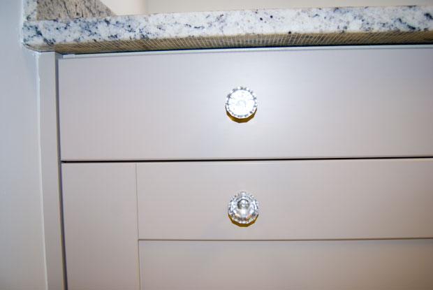 Kitchen unit end panel