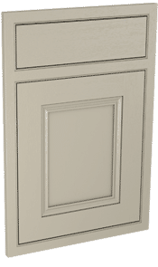 Ayton inframe kitchen door