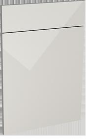 Carrera gloss dove grey modern door