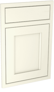 Leeming inframe kitchen door