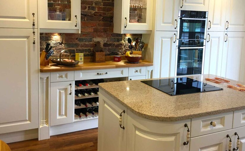 What is a kitchen pilaster?